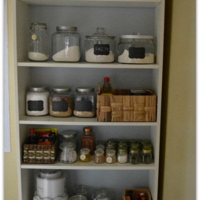 Billy Bookcase Pantry