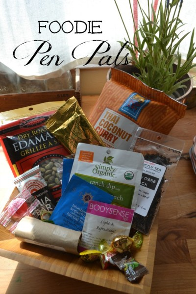April Foodie Pen Pals