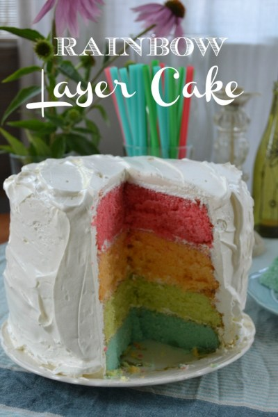 Essential Summertime Layer Cake