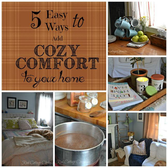Easy cozy comfort at home
