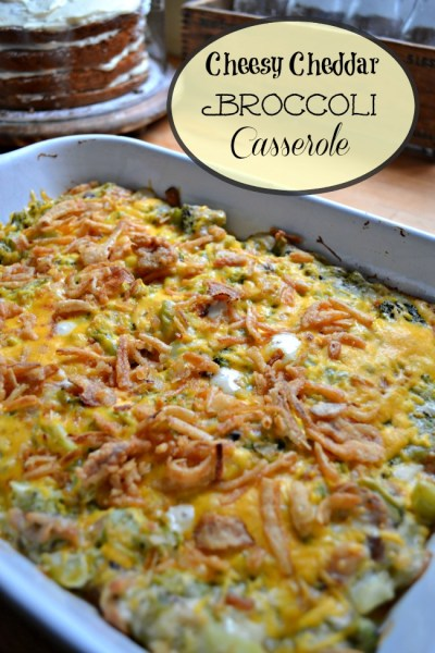 Taste of Home Tuesday – Cheesy Broccoli Casserole