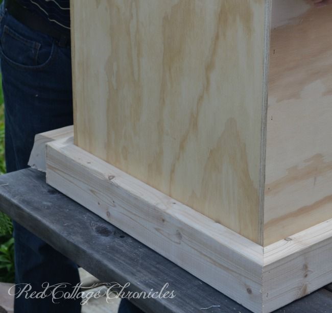 DIY Pottery Barn inspired Rebecca trunk