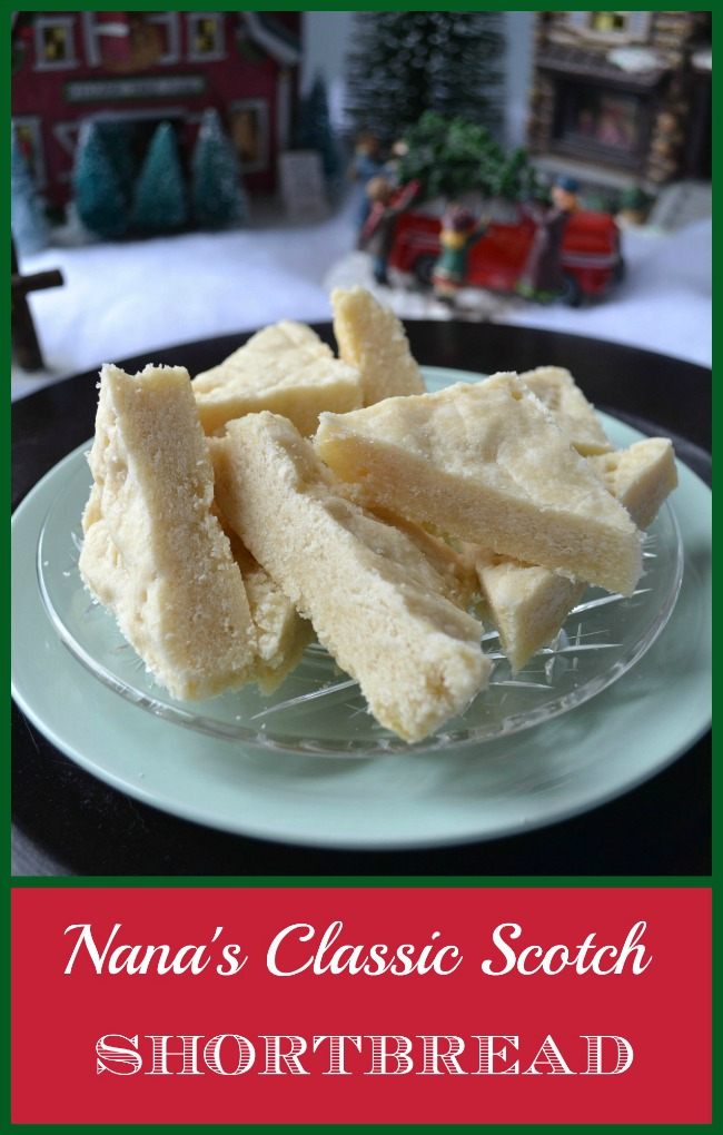 A recipe for scotch shortbread that is a Christmas tradition passed down through the years