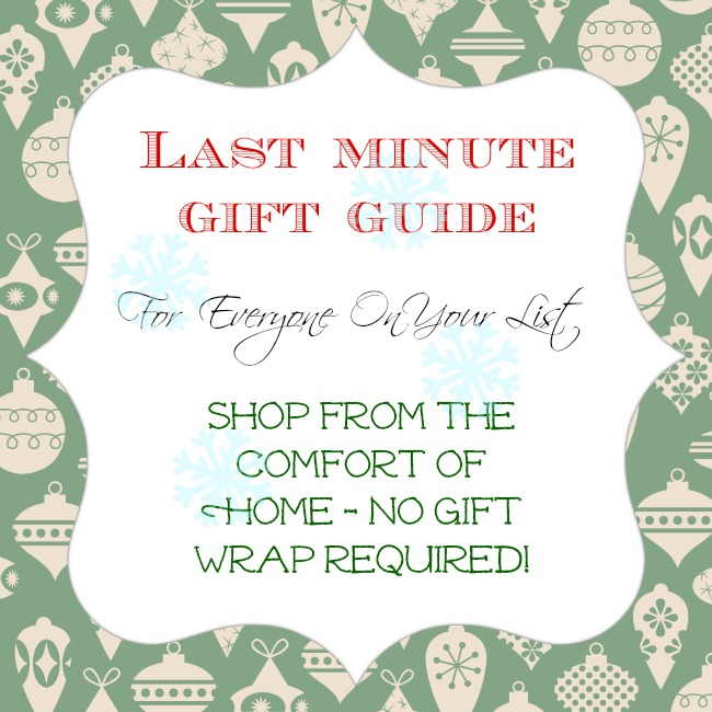Last minute gift guide. Finish your Christmas shopping without leaving home!