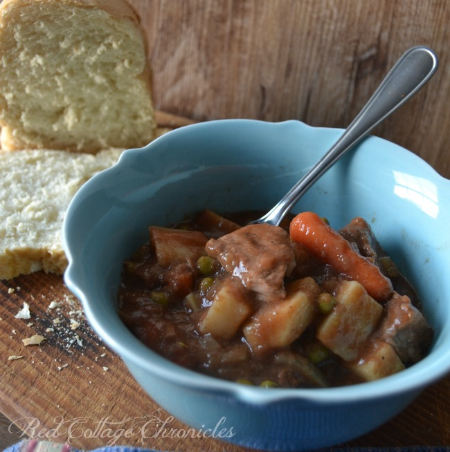 A delicious slow cooker meal for a cold winter day