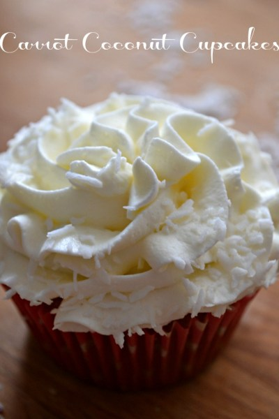 Carrot Coconut Cupcakes