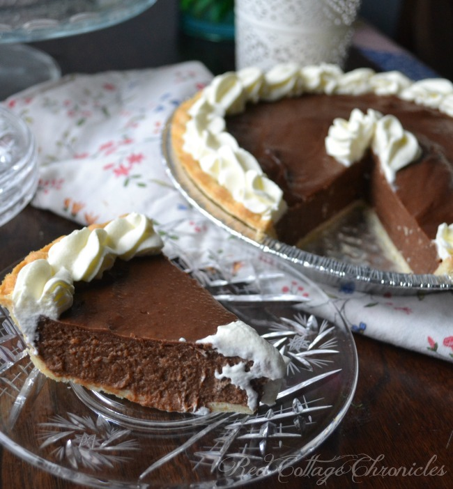 Bakery Quality Chocolate Cream Pie