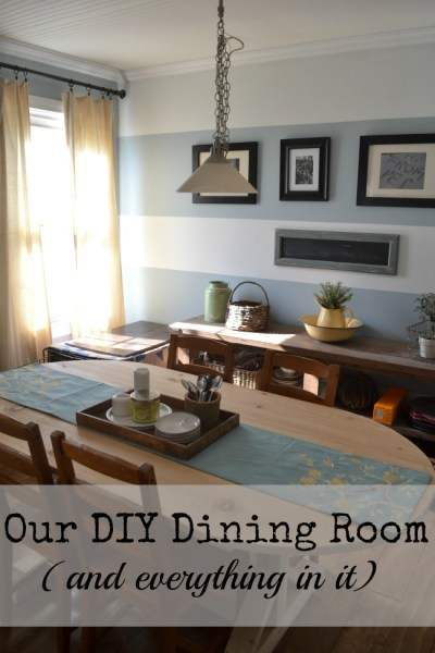 7 DIY Dining Room Projects