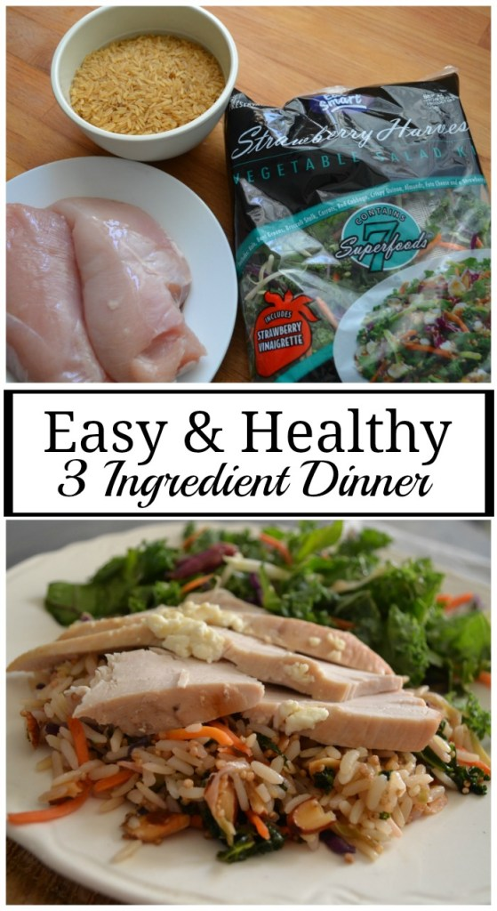 easy healthy dinner with a gourmet flare