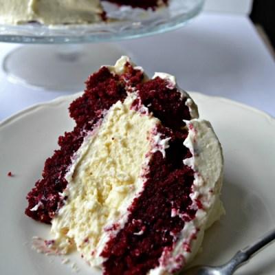 Cheesecake Factory Inspired Red Velvet Cheesecake