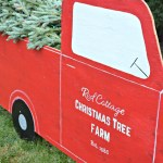 Outdoor Christmas Decorations Diy Red Truck Christmas Tree