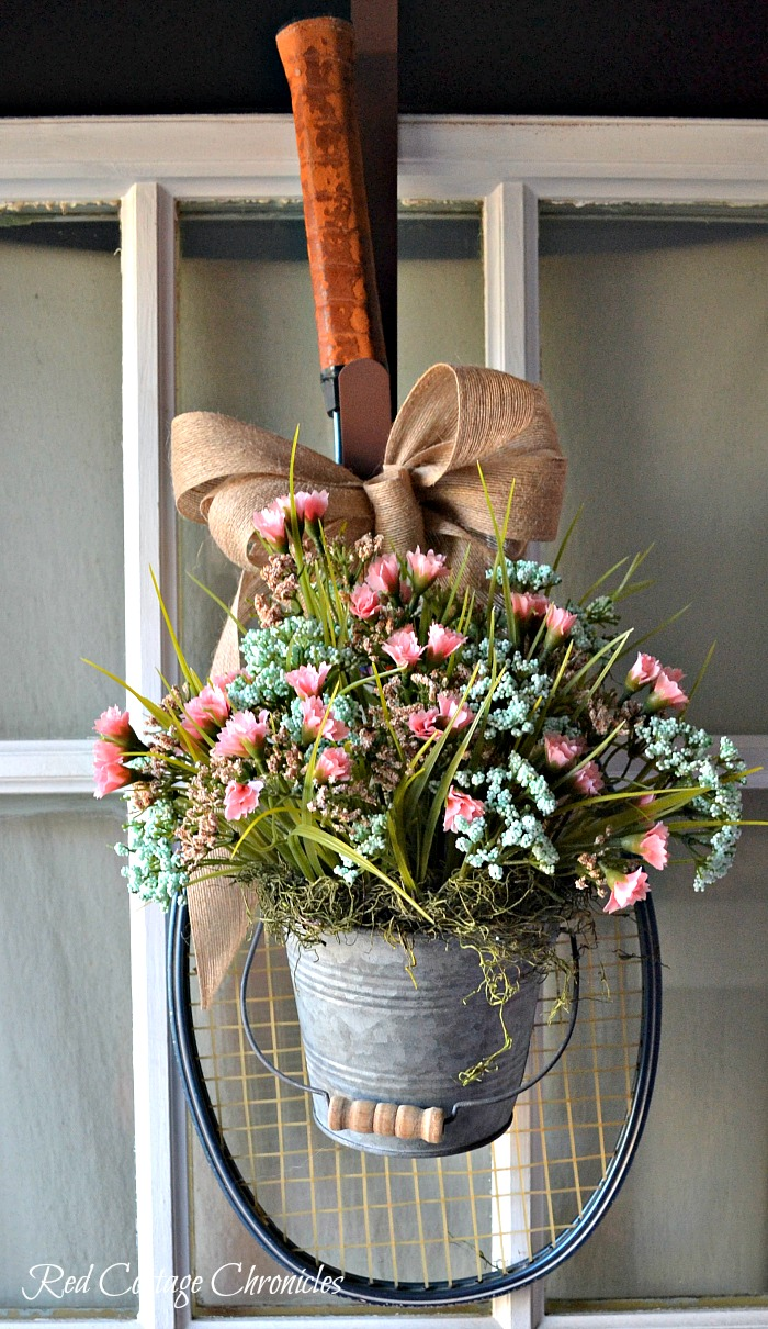 Spring Wreath Ideas Red Cottage Chronicles