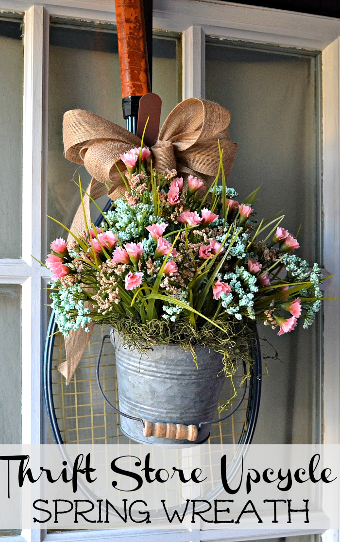 spring wreath ideas red cottage chronicles - Spring Wreath Ideas