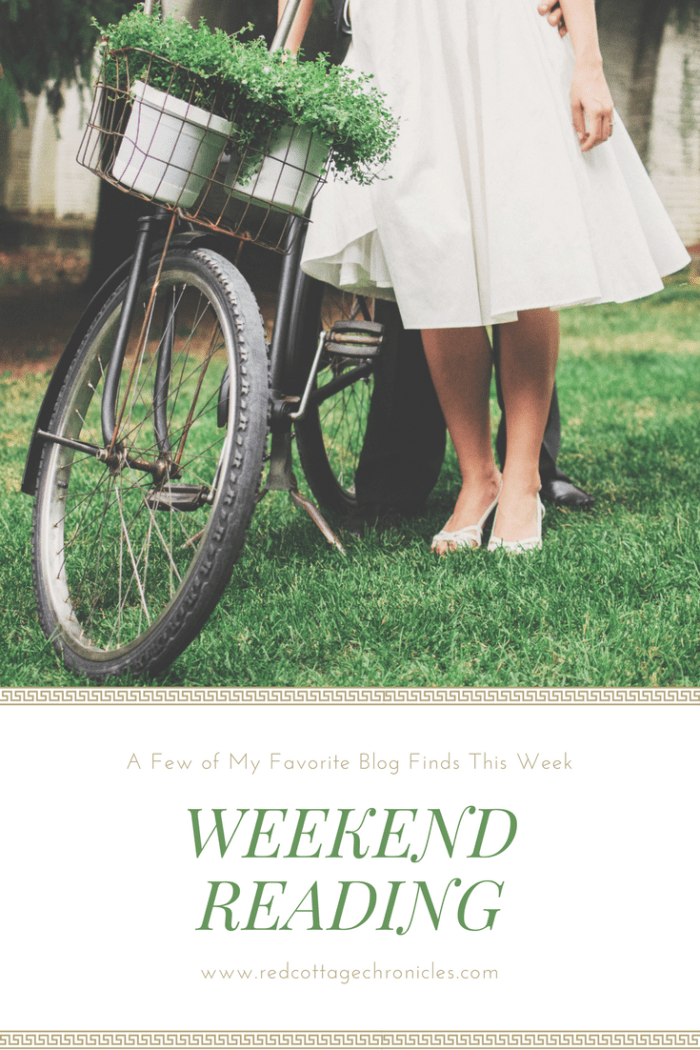 A few of my favorite blog posts for reading this weekend