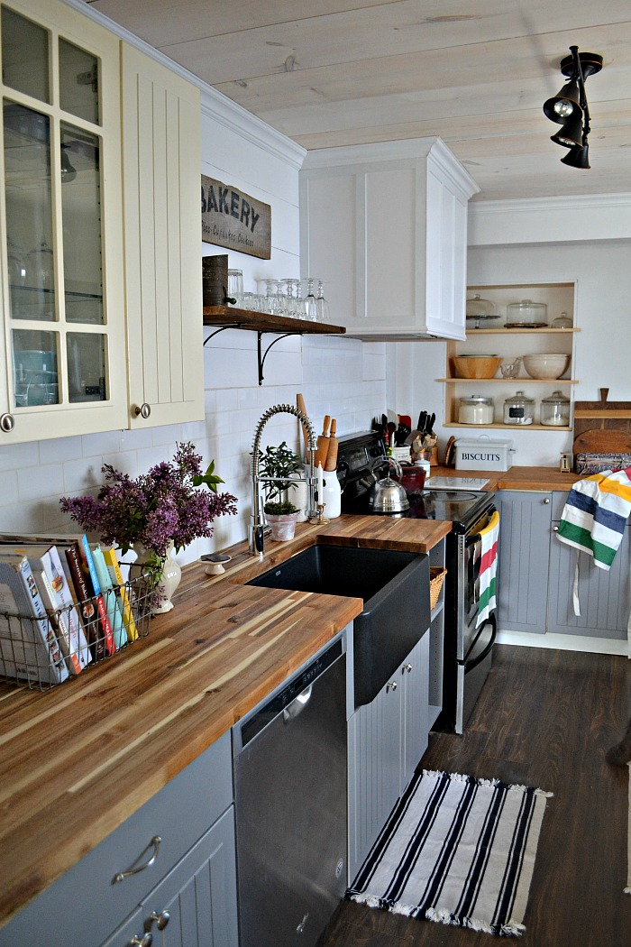 How to seal butcher block countertops with food safe treatment