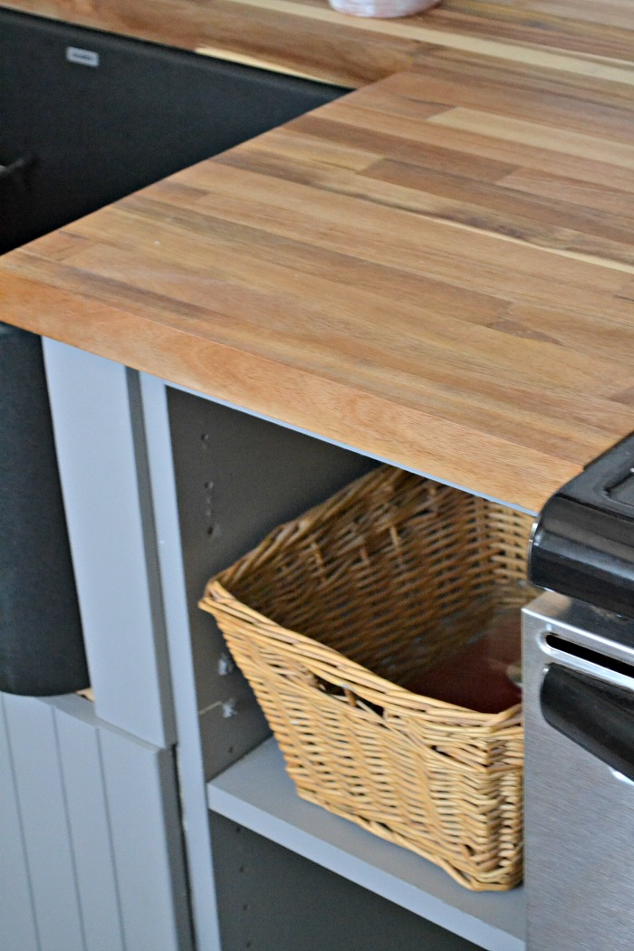 Kitchen Reveal Acacia Butcher Block Countertops