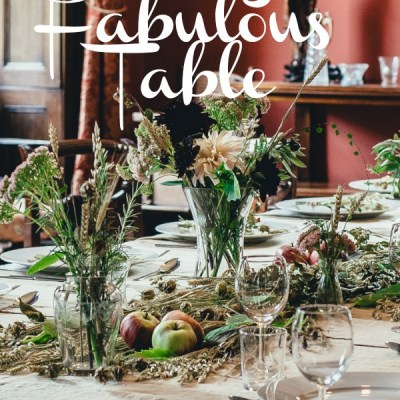 8 Tips for Setting A Fabulous Table