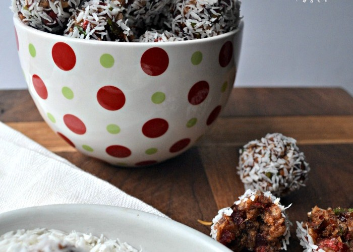 Christmas Cookies Week – Coconut Cherry Snowballs