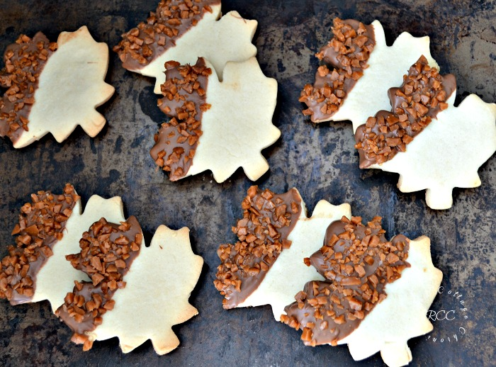 Skor Shortbread Cookie Recipe