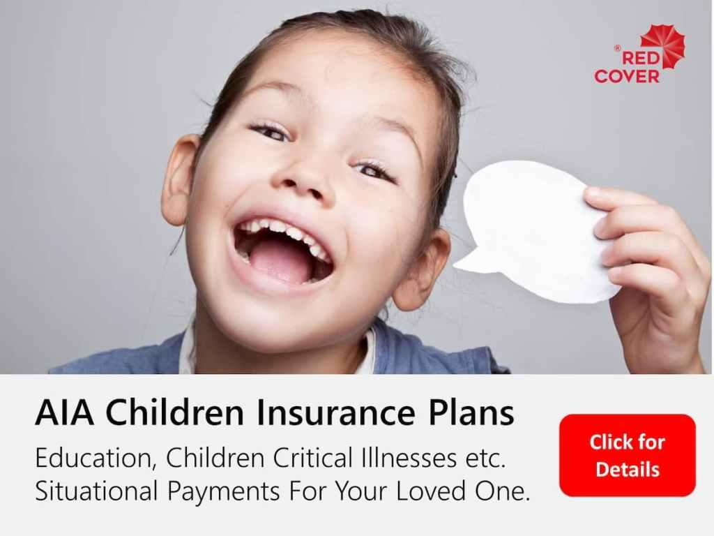 AIA Children Insurance Plans