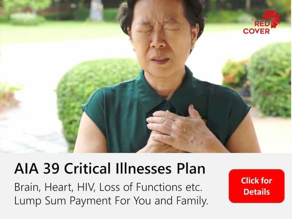 AIA 39 Critical Illnessess Plan
