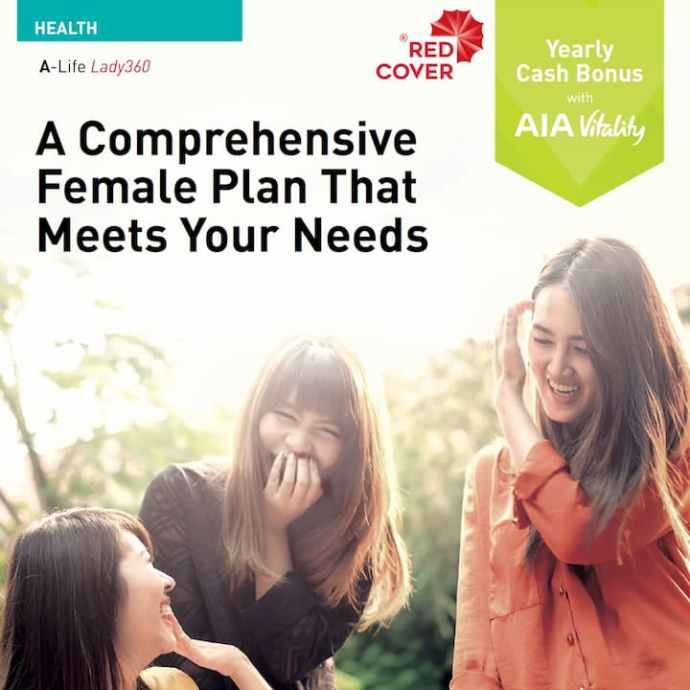 AIA A-Life Lady360 Insurance Plans