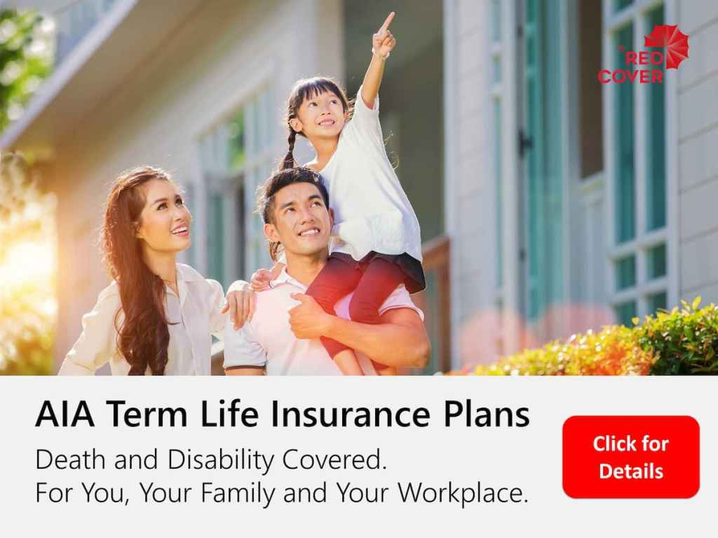 AIA Term Life Insurance Plans