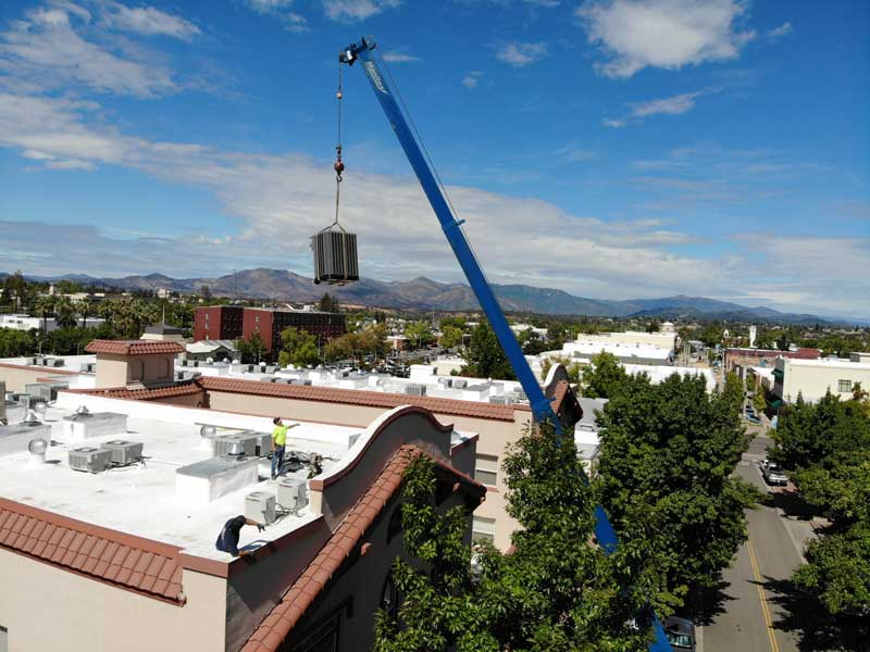New HVAC Heating Air Conditioning Installation in Redding, CA