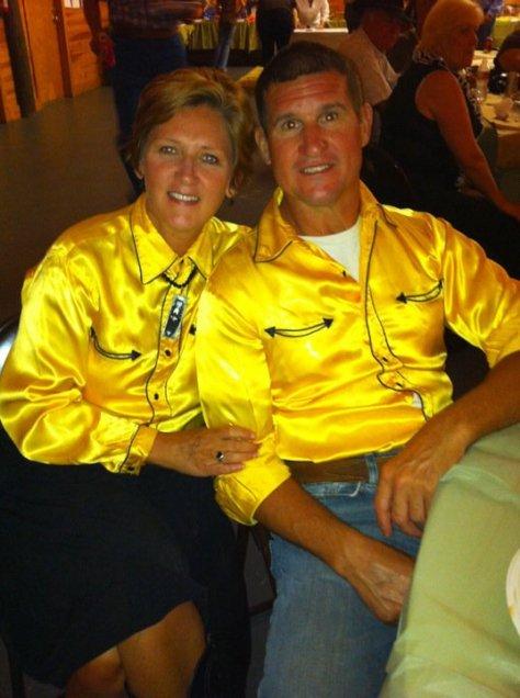 Yellow Western Shirts