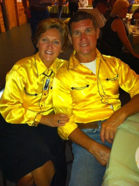 Yellow Western Shirts