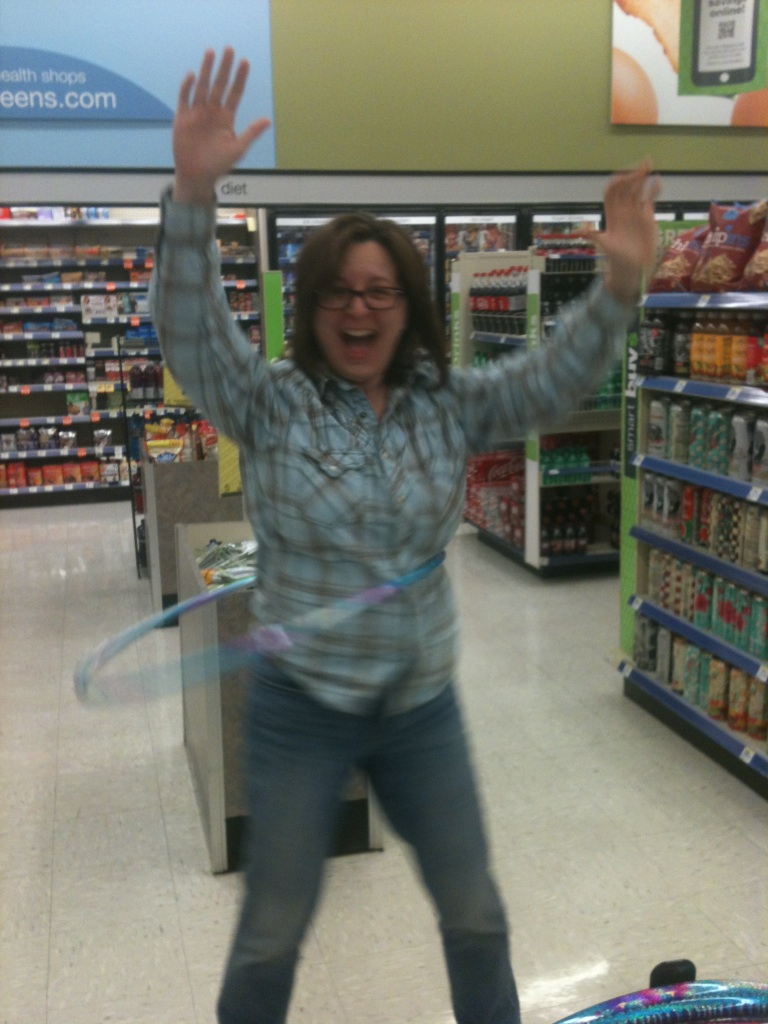 rdc news updates red dirt chronicles this is me playing a hulahoop in walgreens the evening after i finished my last doctoral coursework assignment a couple of weeks ago