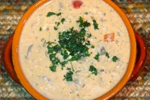 Wicked Thai Chicken and Rice Soup