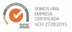 sello SGS nCH2728:2015