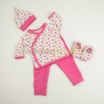 Set w/Kimono Wrap Top