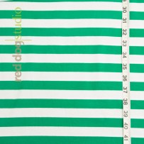 Green/White Stripe (note: larger stripes)