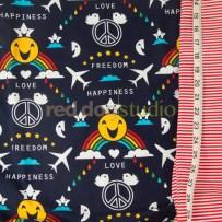Happiness & Coordinating Rib