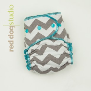 Chevron on Aqua