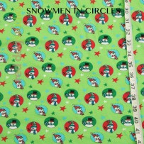 Snowmen in Circles (Premium Charge Applies)