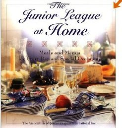 Junior League At Home Cookbook