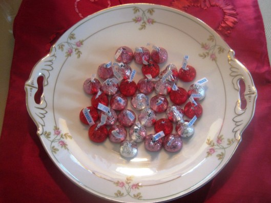 bavarian platter with hershey kisses