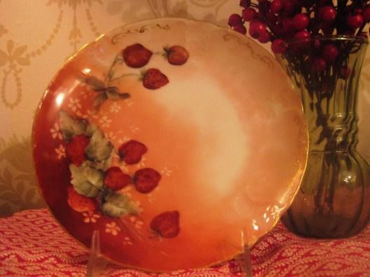 red bavaria plate