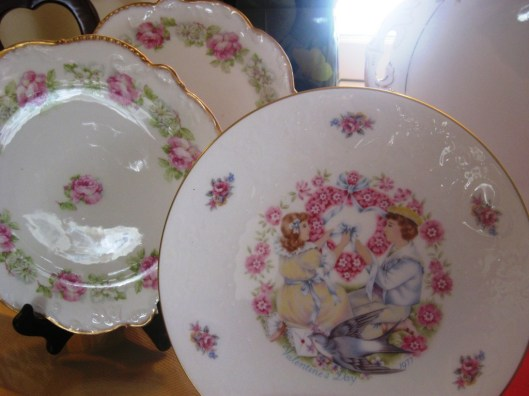 royal daulton plate close up