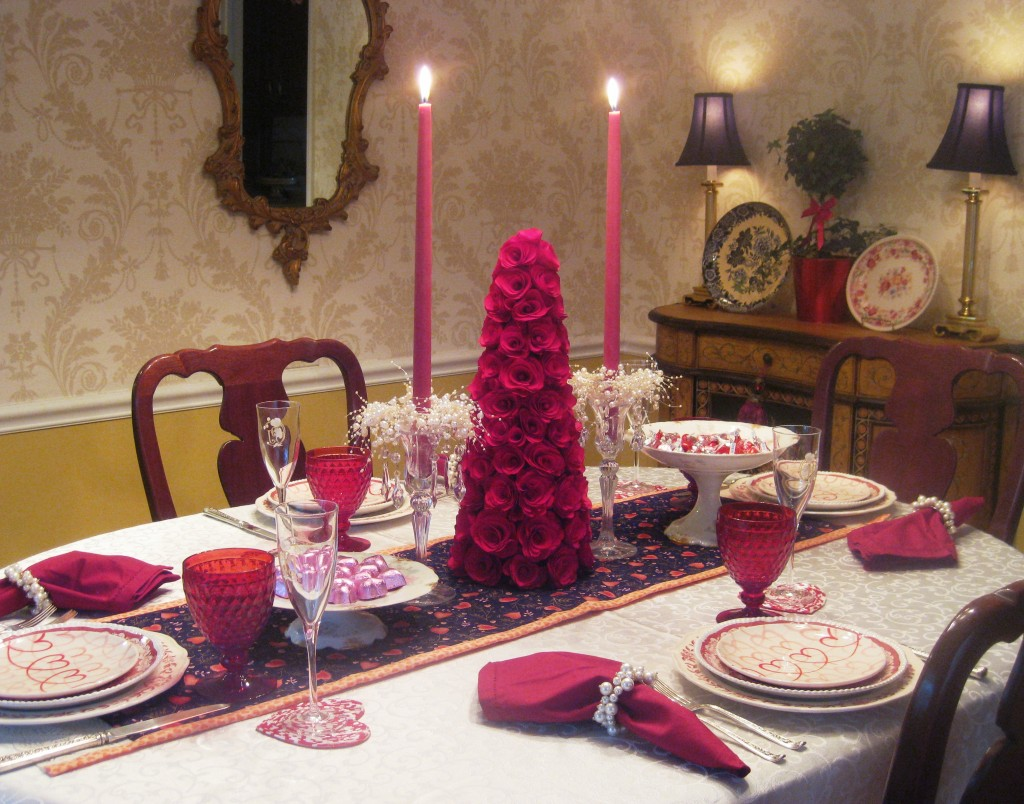 Valentines Day Tablescape Part 1 Red Door Table Decor