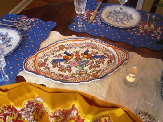 Italian serving plate