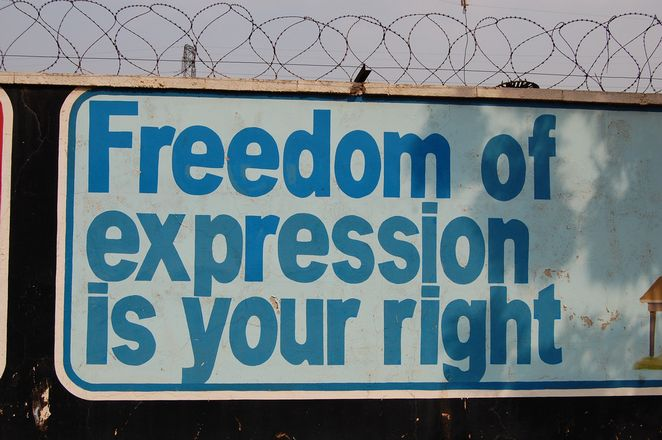 """""""Expression of a Cartoonist under Article 19 of the Indian Constitution is justified """""""