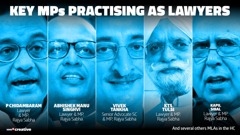 No Restriction on MPs/MLAs for practicing law as they cannot be termed as full-time salaried employees: Supreme Court