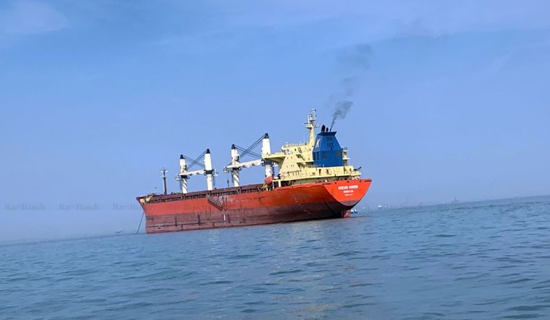 Release of the Arrested Supply Vessel