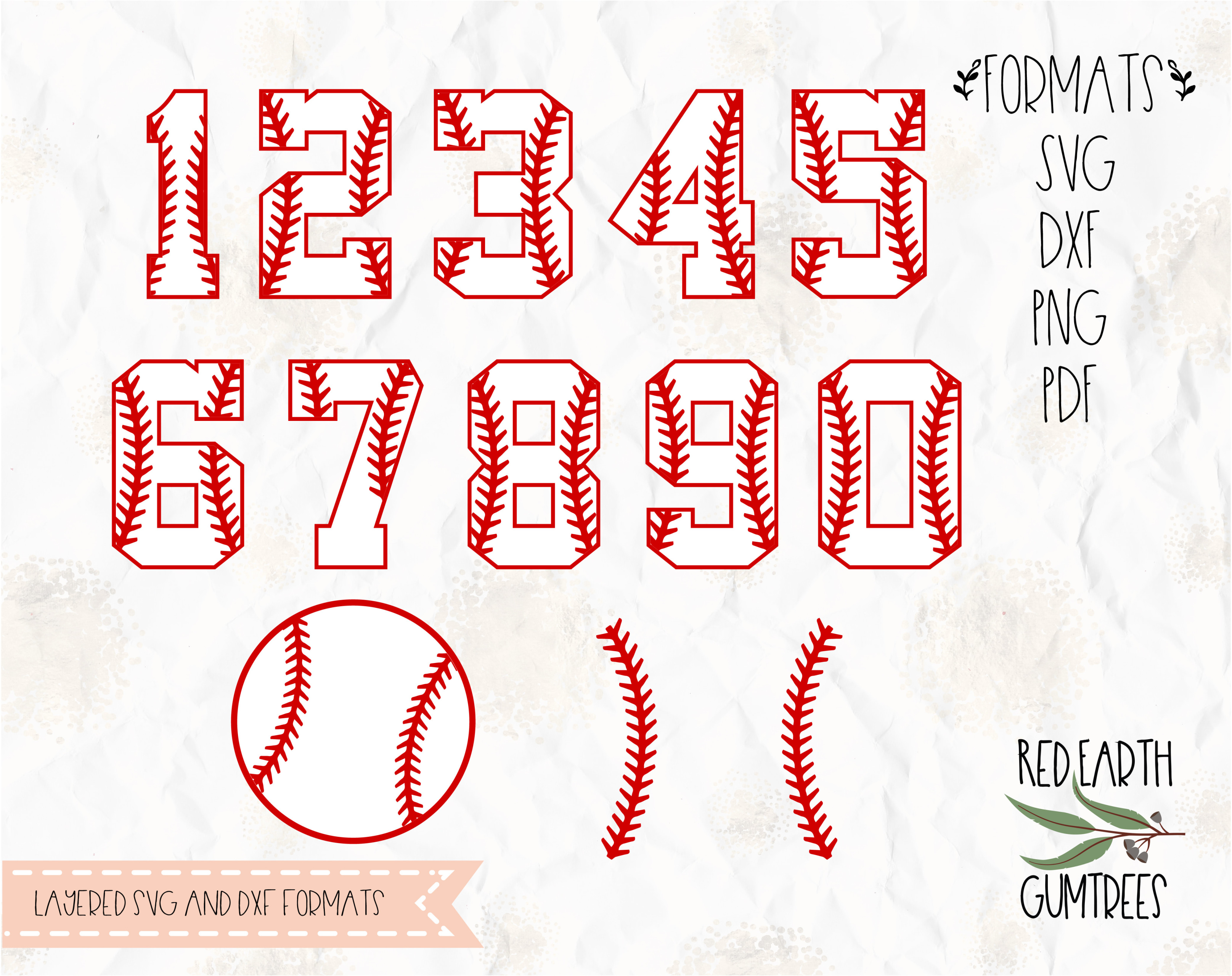 Baseball Numbers Baseball Baseball Stitches Softball In