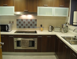 150 Fully equipped kitchen.