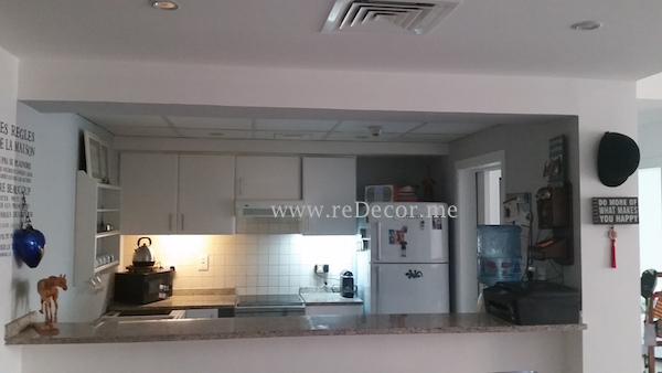 Interior decor Dubai, solutions, consultation, upgrade kitchen, white cabinets